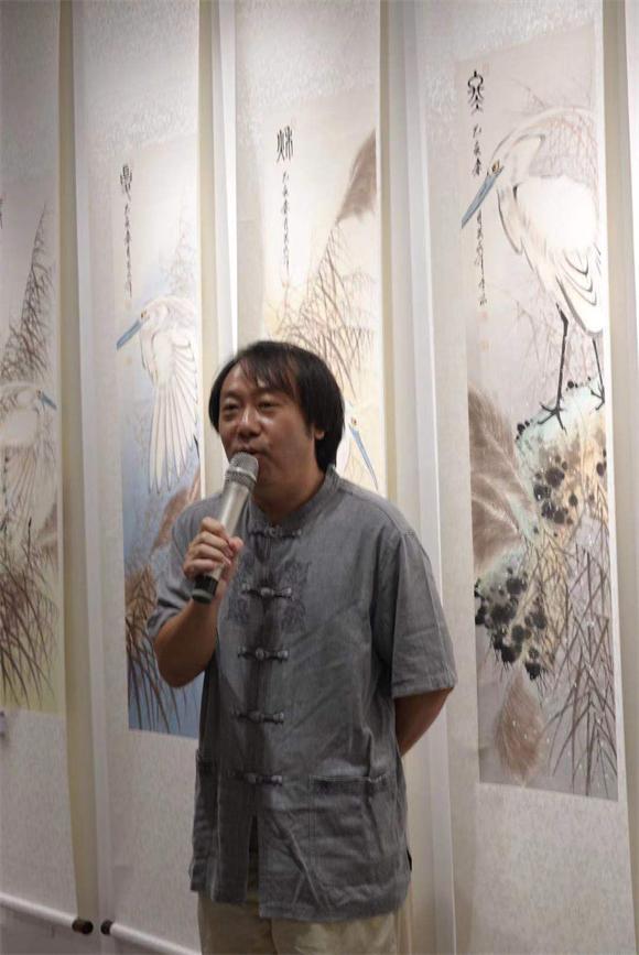 第二届翰海书画院四条屏全国书画邀请展在京胜利开幕